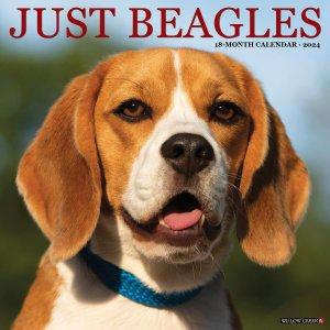 WillowCreek ビーグル カレンダー JUST Beagles