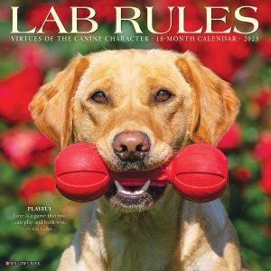 WillowCreek Lab Rules ラブラドール カレンダー