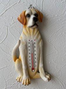 温度計 イエローラブラドールレトリーバー
