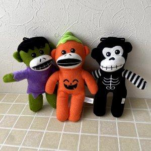 ソックモンキー Pet Factory Halloween Sock Monkey Dog Toy