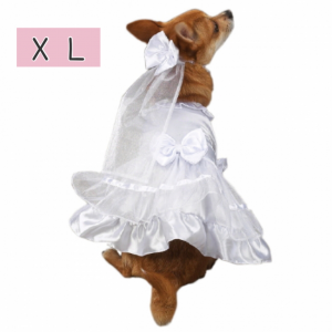 ウエディングドレス【XL】胴周り58-68cm