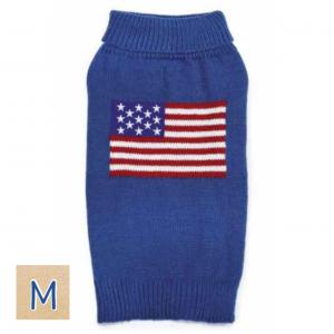 アメリカンドッグセーター【M】胴52cm、丈35cm