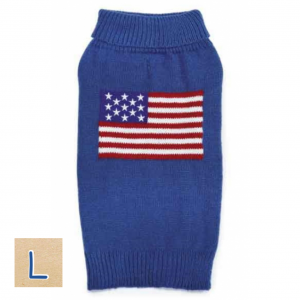 アメリカンドッグセーター【L】胴64cm、丈40cm