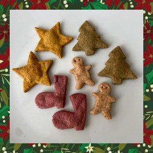 手作りドッグクッキー★クリスマスバージョン