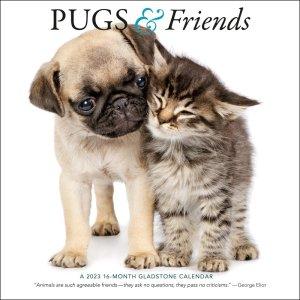 パグ&フレンズ カレンダー Pug & Friends--- Gladstone Media