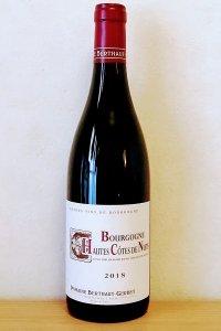 Bourgogne Hautes Cotes de Nuits Rouge2018/Berthaut Gerbet ブルゴーニュ・オート・コート・ド・ニュイ・ルージュ2018/ベルトー・ジェルべ