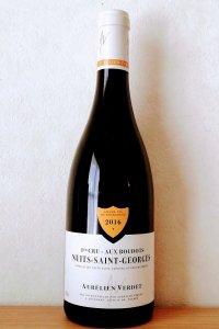 Nuits-St-Georges 1er Aux-Boudots2016/Aurelien Verdet ニュイ・サン・ジョルジュ プルミエクリュ オー・ブドー2016/オレリアン・ヴェルデ