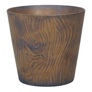 金泥釉木目 ロックカップ