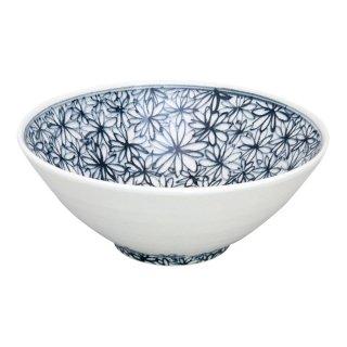 染付花詰 手造り深鉢