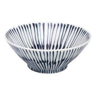 染付重ね十草 平小鉢