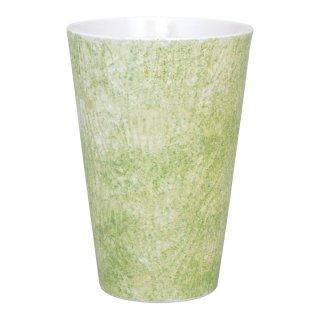 コーラルグリーン ビアカップ