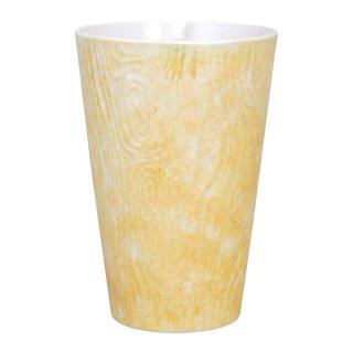 コーラルイエロー ビアカップ