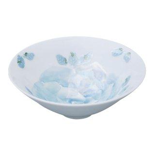 ローズ(青) 飯碗