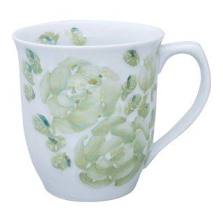 ローズ(緑) マグカップ