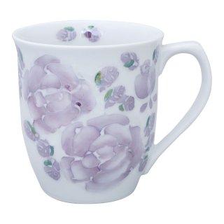 ローズ(紫) マグカップ