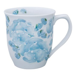 ローズ(青) マグカップ