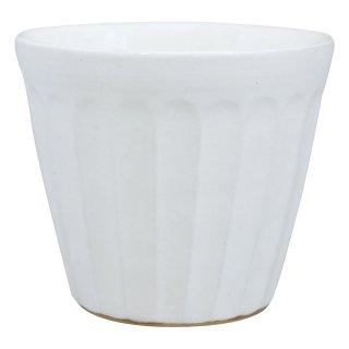 白化粧 面取りカップ