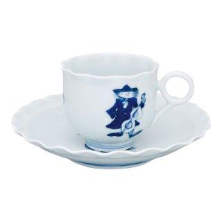 ハーモニー 輪花コーヒー碗皿