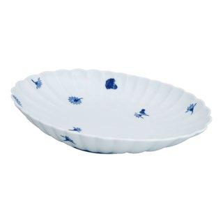 菊散し 菊型皿