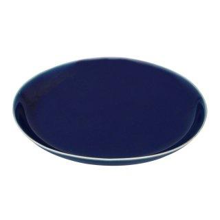 蒼い 15cm楕円皿