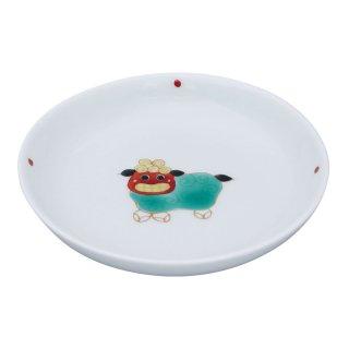 獅子舞 三寸丸小皿