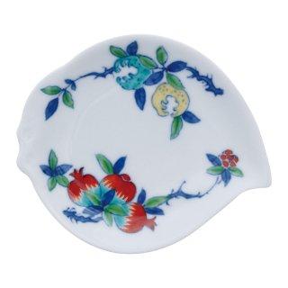 三果文 桃型手塩皿