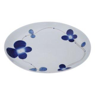 クローバー 25�楕円皿