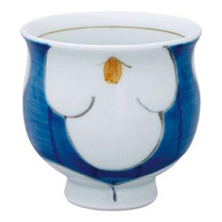 花紋 ミニコップ(青)