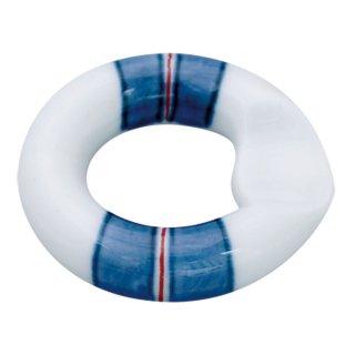 線段 リング箸置(青)