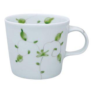 錦唐草 ポテマグカップ(グリーン )