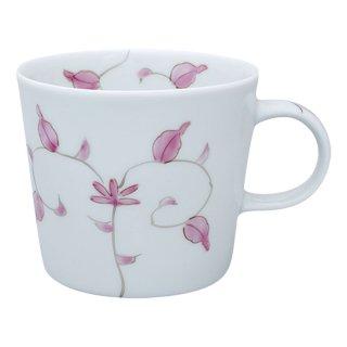 錦唐草 ポテマグカップ(ピンク)