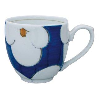 花紋(青) ミニマグカップ