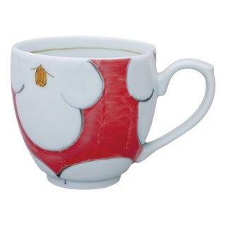 花紋(赤) ミニマグカップ