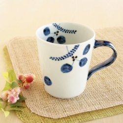 木の葉 立マグカップ
