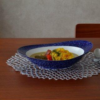 みかわちカレー皿(ラズリ)