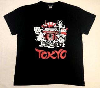 イラスト東京Tシャツ