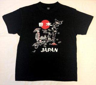 地図舞妓Tシャツ