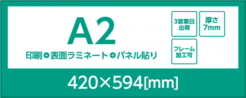 A2 スチレンボード7mm
