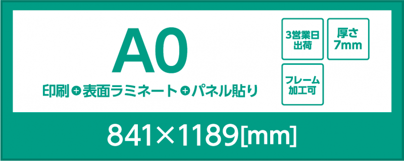 A0 スチレンボード7mm
