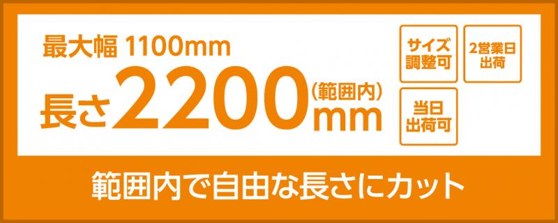 合成紙(長尺サイズ1100×2200)