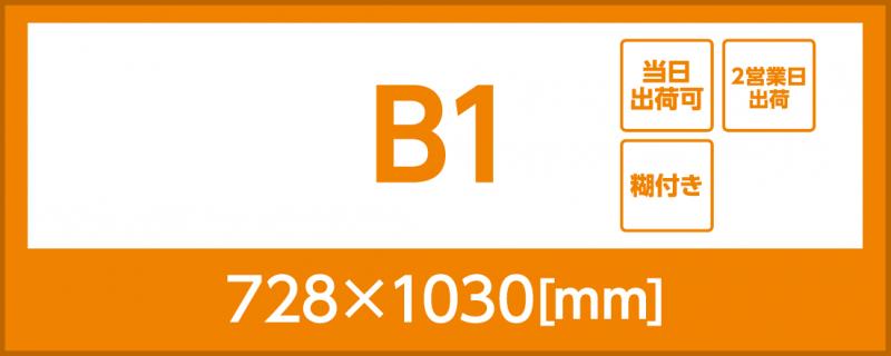 合成紙(糊付き)(B1)