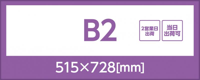 光沢紙(B2)