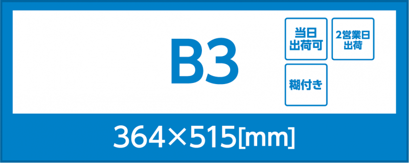 バックライトフィルム(B3)(糊付き)