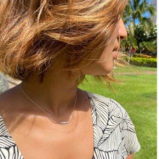 『Lono』デコルテをキレイに見せる華奢ネックレス「Lele necklace」の商品画像