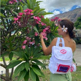 『HOLOHOLO BOUTIQUE』【2色展開】一緒に海に行きたくなるデザインの「Backpack」の商品画像