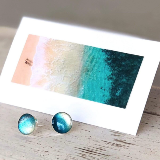 『 Foterra Jewelry』デニムに合わせてつけたい♪ポストピアス「Rise with the Tide」の商品画像