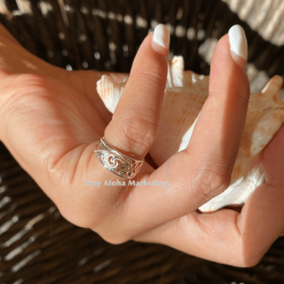 『Hamilton BOUTIQUE』【LaniLani限定ギフト付き/3色展開】 Toe Ring としても使える!ハワイアンジュエリー(プルメリア)の商品画像