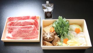 「岩手鋤焼物語」 前沢牛すき焼きセット