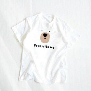 ●大人用プリントTシャツ 【シロクマ】
