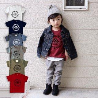 ◎6色展開(size80~120)名前入Tシャツ【マウンテン】